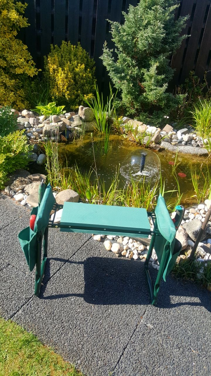 Relaxdays Kniestuhl Garten